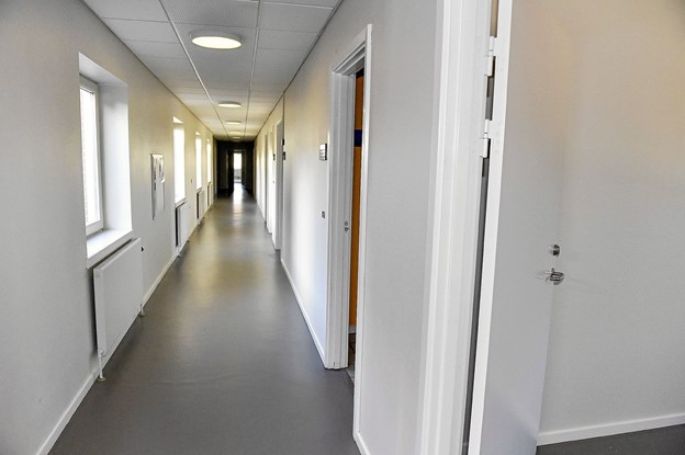 Mange fine kontorer kan blive til større rum ved at vælte mure. Foto: Ole Iversen
