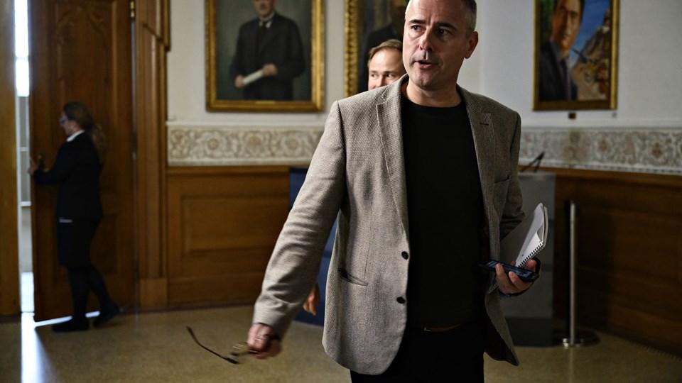 Henrik Sass Larsen har sygemeldt sig. Foto: Philip Davali/Ritzau Scanpix