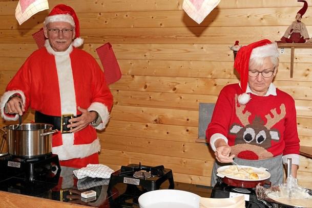 Nu er det jul på Stenderupgaard