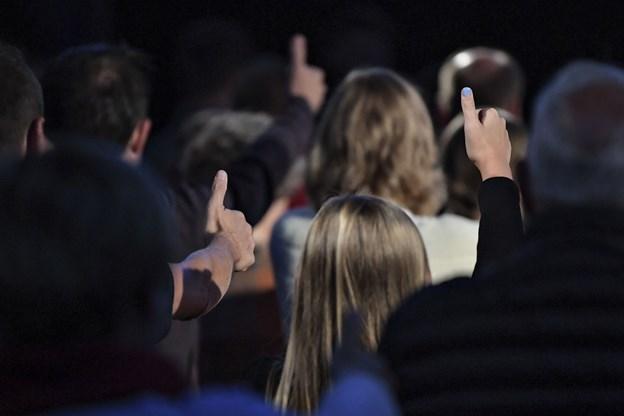 Der er tilsyneladende thumbs up til udbuddet af koncerter og underholdning hos Skråen og AKKC. Arkivfoto: Bent Bach