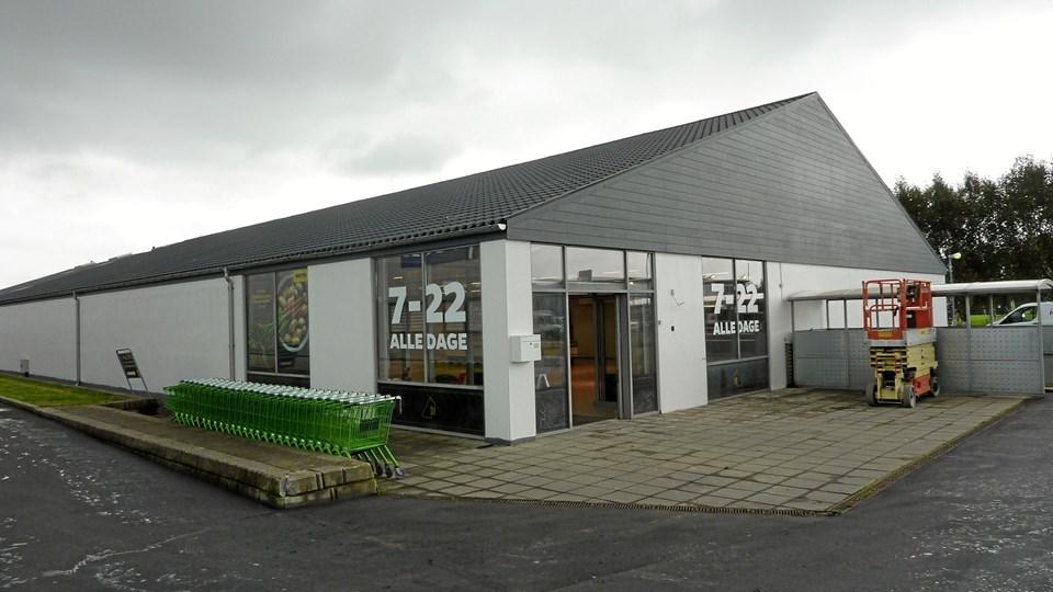 Håndværkere er lige nu i fuld gang med at forvandle lokalerne på Thurøvej, der tidligere har huset en KIWI, til den nye Netto-butik.