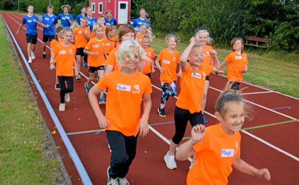Sæby Atletikskole var en god start på sommerferien