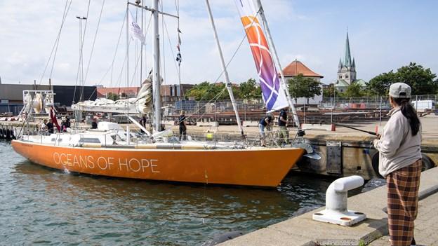 Besætningen har sklerose: Ny forskning skal dokumentere sejler-effekt