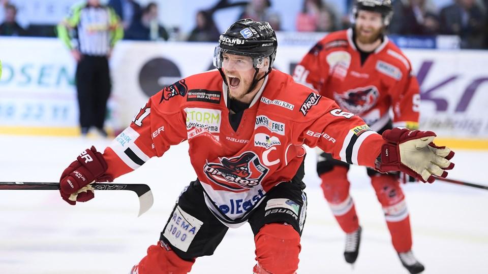 Julian Jakobsen håber meget, at han kan være medvirkende til at bringe endnu en titel til Aalborg Pirates. Arkivfoto: Claus Søndberg