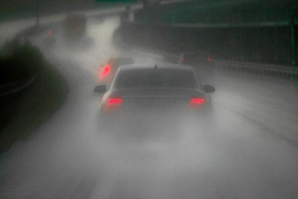Lyssky bilister til fare for trafikken