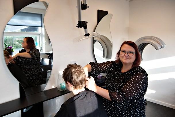 Ny frisør i Gærum