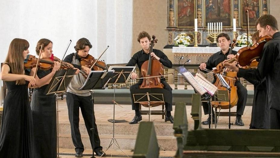 Ungt ensemble fra Thy spiller i Dokkedal
