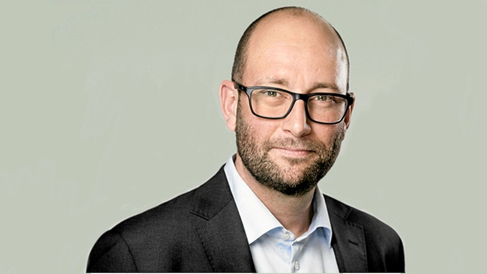Transportordfører Rasmus Prehn (S). Arkivfoto