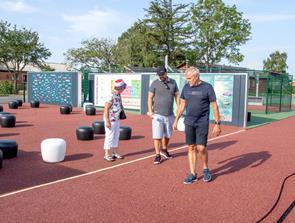 Kæmpe udendørs klasselokale klar til skoleåret