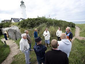 D-dag markeres med bunker ture i Hirtshals og Tversted