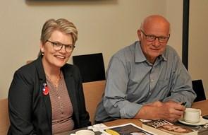 Møde med to folketingspolitikere
