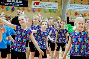 Gymnaster på spring i Tårs