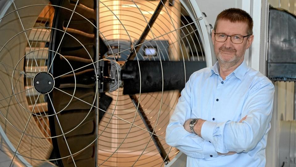 Jørgen Yde Jensen, adm. direktør for Skov A/S, er godt tilfreds med overtagelsen af canadiske Secco International Inc. Privatfoto