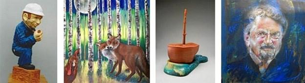 Det er udelukkende lokale kunstnere, der udstiller på kunstmuseets første udstilling i 2018.