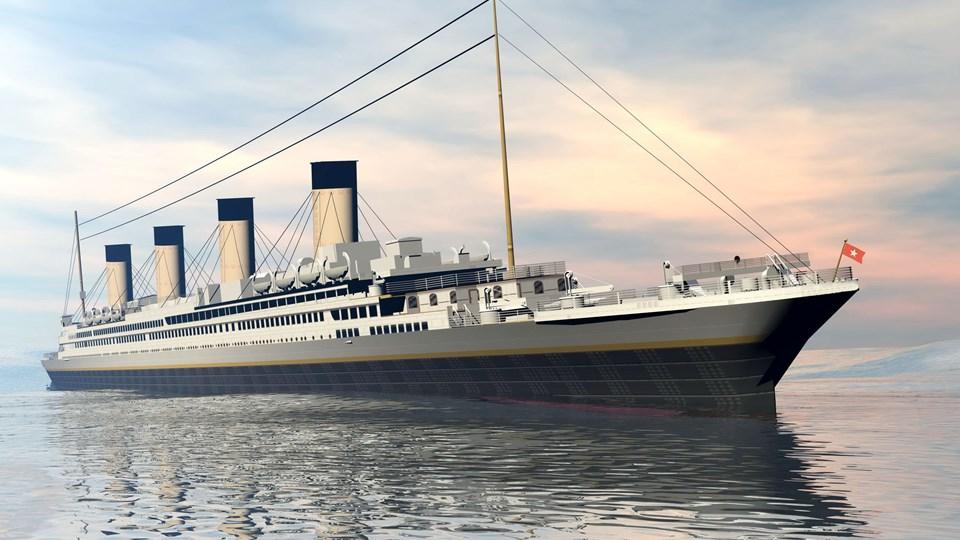 Titanic ship - 3D render Foto: Free/Elena Duvernay