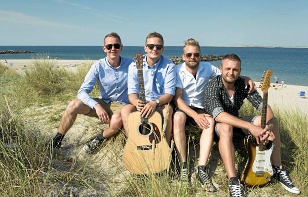 The Grandfætters er fra Thyborøn og det er med det udgangspunkt sangene kommer. Privatfoto