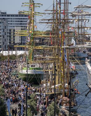 Nu er Tall Ships en folkefest