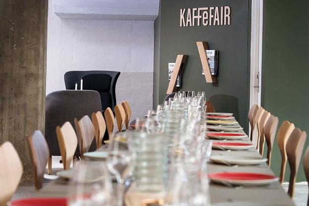 Nu sker det endelig - KaffeFair åbner sin café og restaurant. Arkivfoto: Torben Hansen