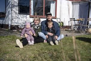Travl hverdag: Jannik og Charlotte har fundet et sted at være sammen