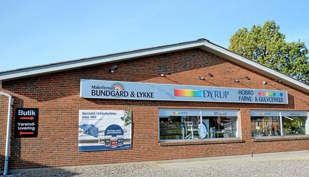 Virksomheden holder til på Smedevej i Hobro. Foto: Jesper Bøss