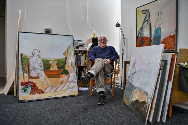 Åbent galleri i Nørlev hos Mogens Andersen
