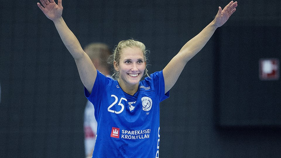 Maria Fisker rykker fra Randers HK og til ligarivalerne fra Viborg HK, som hun tidligere har spillet for. (Arkivfoto)
