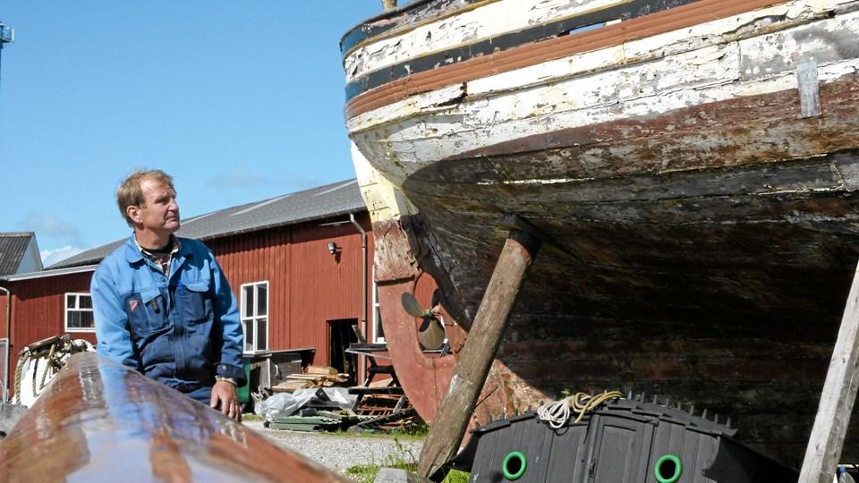 Med Peter Leth som drivende kraft er Hobro Værft et af ganske få fungerende træskibsværfter i Danmark. Værftet er et af de bærende elementer i det kommende maritime kulturcenter.Arkivfoto