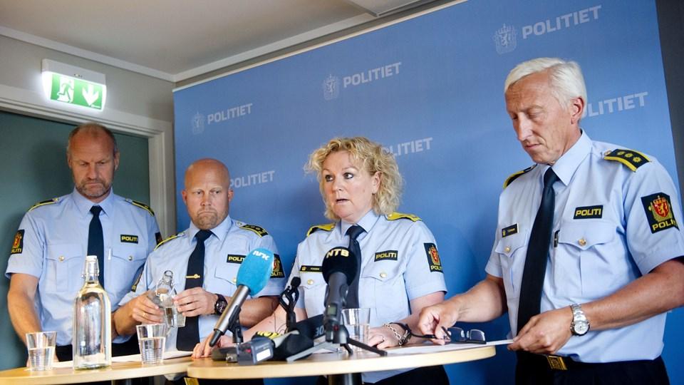 Norsk politi anholder mistænkt i 16 år gammel drabssag. Foto: Scanpix