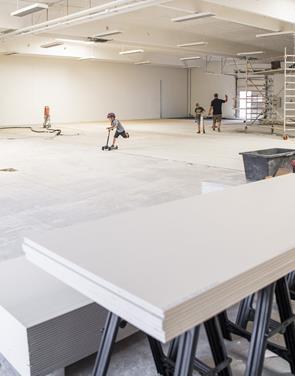 Arbejdet er i fuld gang: Børneloppen åbner snart i Aalborg