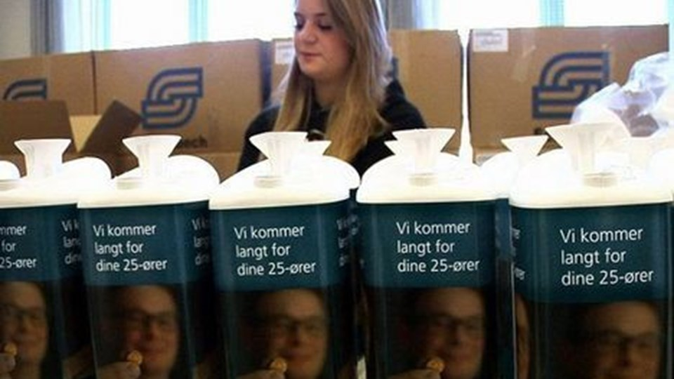 Scleroseforeningen starter indsamling af 25-ører. Pressefoto