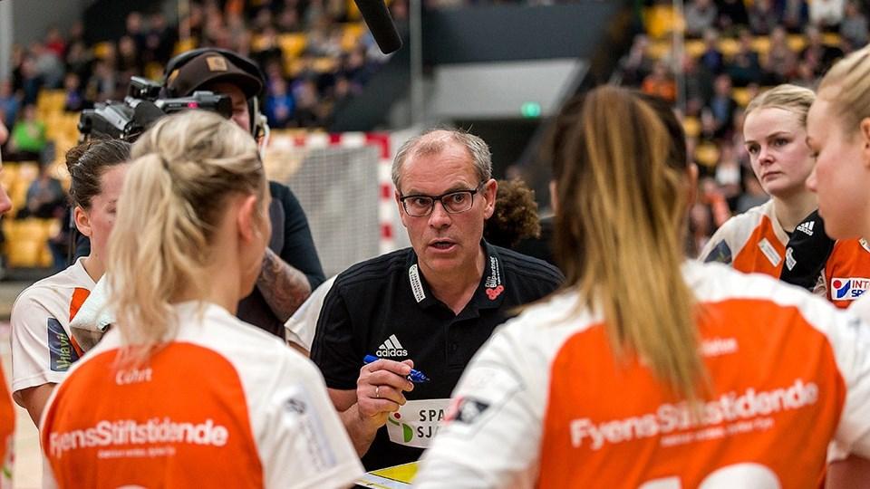 Odense-træner Jan Pytlick ser frem til de kommende kampe i slutspillet. Foto: Free/Torben Andresen
