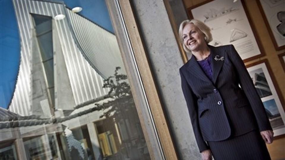 USA's ambassadør Laurie S. Fulton er specielt glad for havnepromenaden i Aalborg.