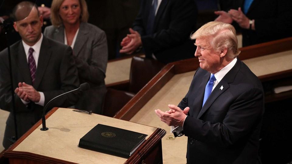Donald Trump vil bevare den omstridte fangelejr i Guantanamo Bay trods internationale fordømmelser. Foto: Scanpix/Alex Wong
