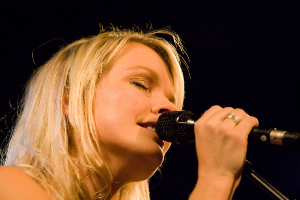 Sanger og sangskriver Signe Svendsen optræder 20. september.              Arkivfoto: Bo Lehm © Bo Lehm / +45 4091 2911