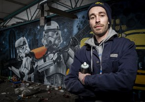 Danmarks graffiti-mekka ligger i Karolinelund