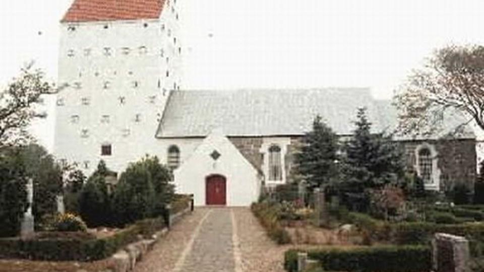 Vennebjerg Kirke - I Vennebjerg og Skallerup har man kun en kirkegårdsleder.
