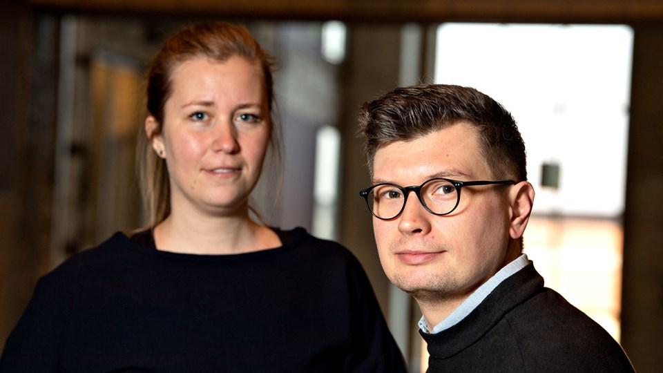 Projektet skulle først have været sat i gang langt senere, men stor interesse fra AAU, Kunsten, Aalborg Kommune med flere har fået parret bag til at fremskynde processen. Foto: Henrik Louis