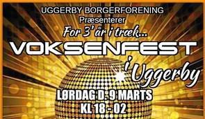 Voksenfest i Uggerby for tredje gang
