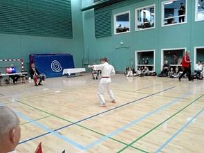 Øland Karate fik sølv til danmarksmesterskab