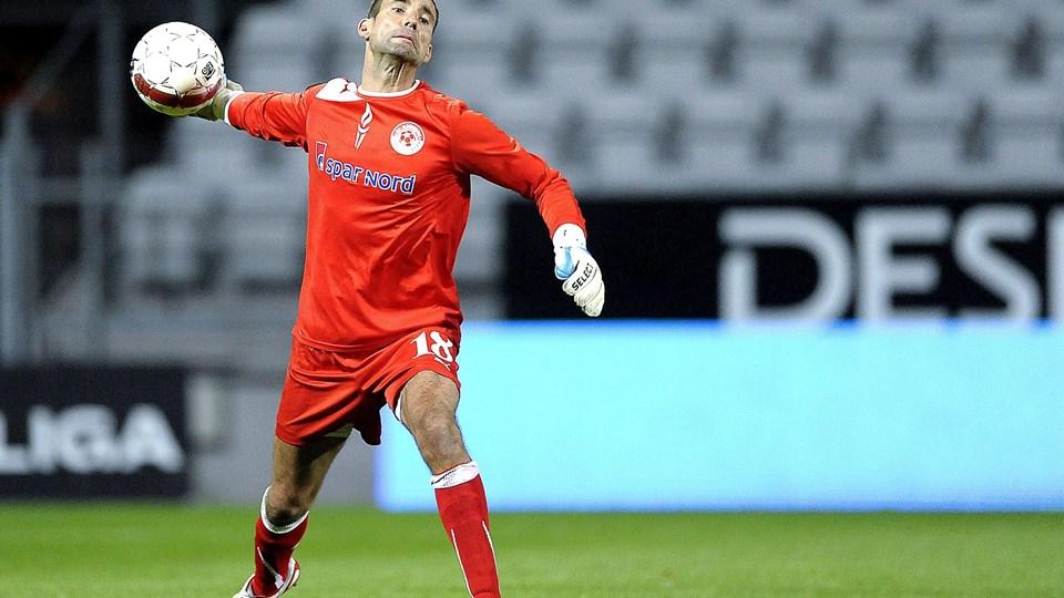 Karim Zaza har haft problemer med skulderen, men er nu klar til kamp. Foto: Lars Pauli