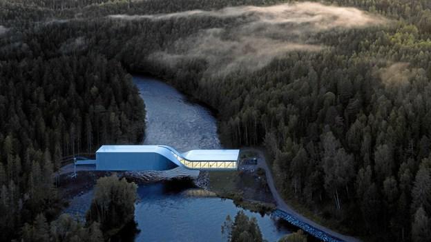 Nordjyder bygger vild kunsthal i Norge sammen med stjernearkitekt: Se de fantastiske billeder af The Twist