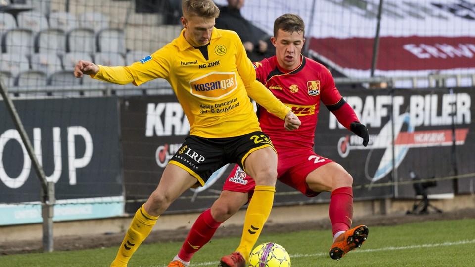 Kasper Junker skiftede fra AGF til AC Horsens på transfervinduets sidste dag for et rekordstort. Foto: Mads Dalegaard/Ritzau Scanpix