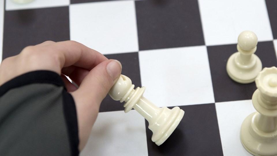 Der spilles DM i skak for piger i Brønderslev i den kommende weekend.Arkivfoto: Anne Mette Welling