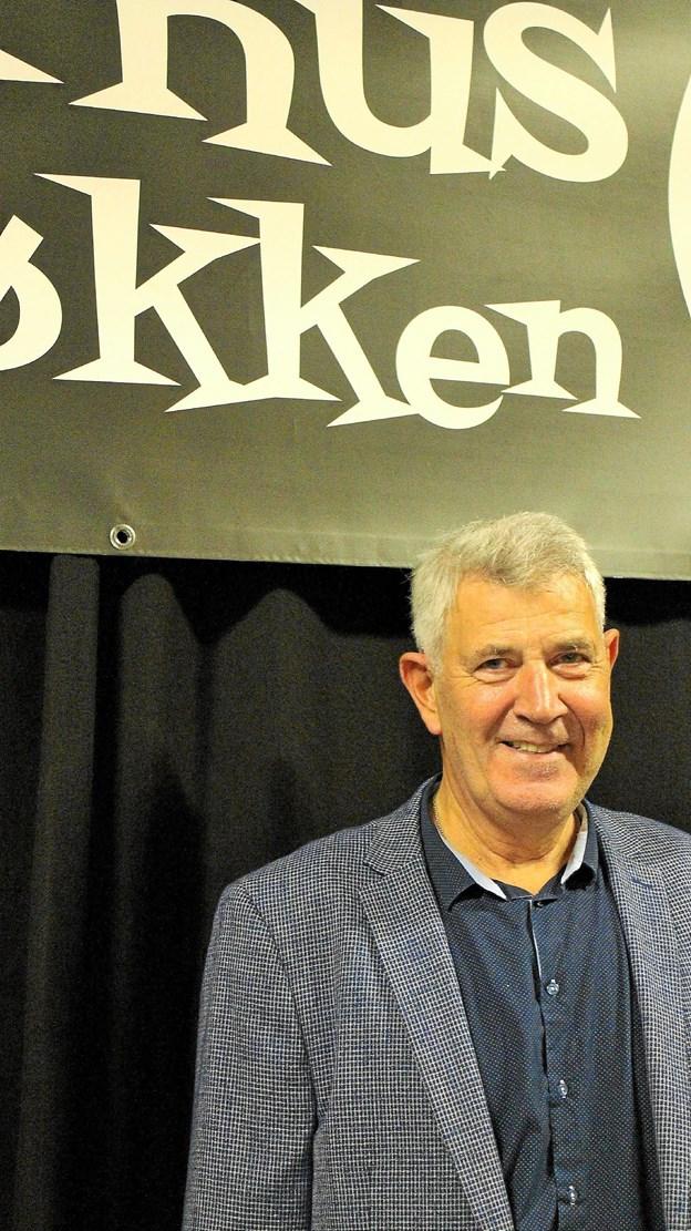 "Orla Aagaard kom ""hjem"" til Løkken. Privatfoto"