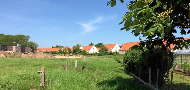 Det er her i dette område klimaparken skal etableres. Foto: Aalborg Kommune