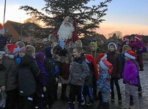 Julemanden landede i Assens