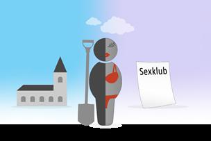 Chikane: Nordjysk graver hængt ud for at drive sexklub