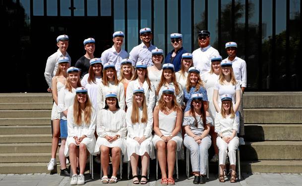 Se billederne: Årets studenter fra Mariagerfjord Gymnasium