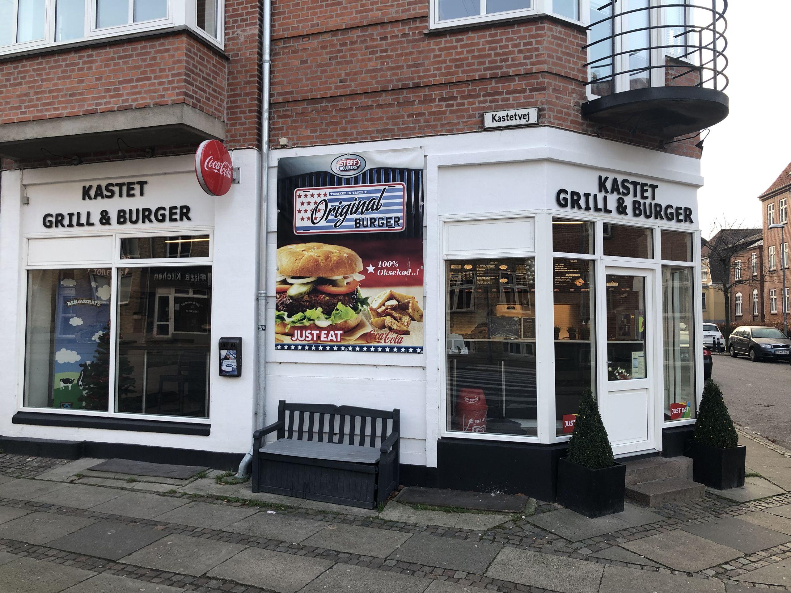Kastet Grill & Burger kan det næste år prale af at være Nordjyllands bedste takeawaysted. Privatfoto