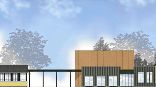 Nye problemer for kulturhusbyggeri: Betonen var alt for dyr